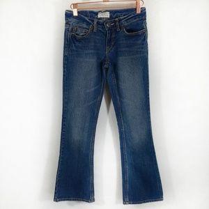 Aeropostale Haley flare Medium Wash Jeans Petite